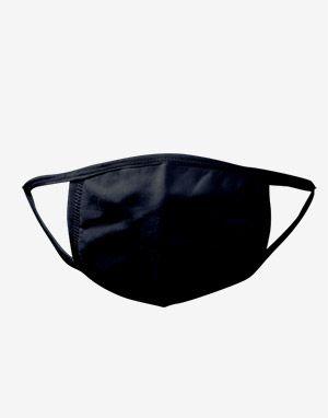 (한국산) 세탁가능 입체패턴 면마스크 cotton mask Black