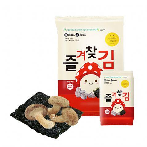 서천김 버섯가루 즐겨찾김 4g x 25봉