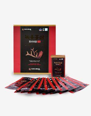 조삼원 녹용홍삼 프리미엄 정품 Deer Antler - Red Ginseng Premium 60p
