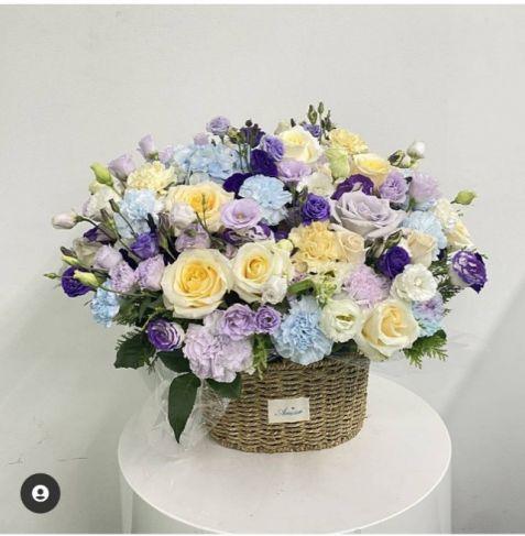 한국으로 꽃을 보내세요! 꽃바구니 VIP