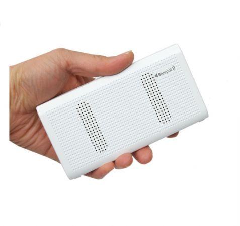블루팟 블루투스 파워뱅크 스피커 10000mAh (White)