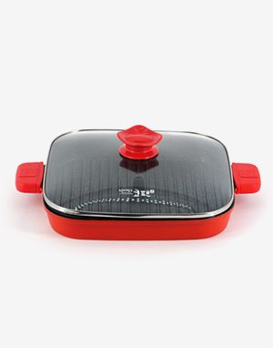 주방의 기적! 냄새잡는 코팬(KOR PAN) 사각 그릴 30cm