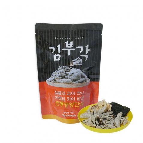 찹쌀 버섯가루 김부각 50g x 5개