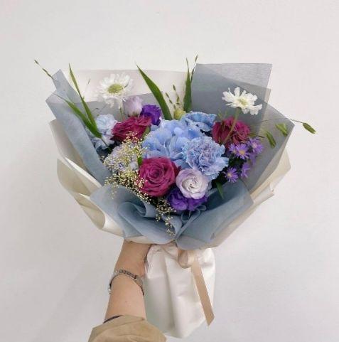 한국으로 꽃을 보내세요! 꽃다발 프리미엄