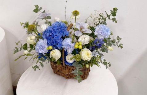 한국으로 꽃을 보내세요! 꽃바구니 프리미엄