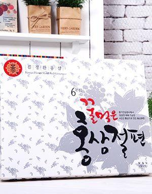 풍김 김정환홍삼 꿀먹은 홍삼절편(20G * 10)1박스 · 3박스