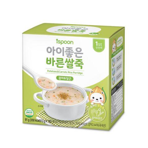 아이좋은 바른쌀죽 (양송이/감자&당근)