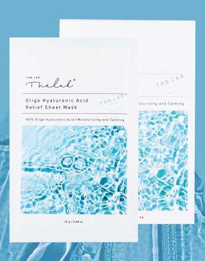 (할인) 더랩바이블랑두 올리고 히알루론산 릴리프 시트 마스크 10팩 THE LAB by blanc doux Oligo Hyaluronic Acid Relief Sheet Mask 10 Pack