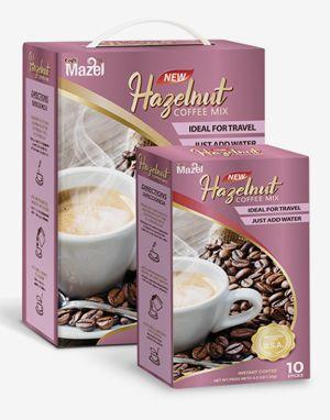 마젤 커피믹스 헤이즐넛 (Mazel Coffee Mix Hazelnut) 100 Sticks 배송비 무료