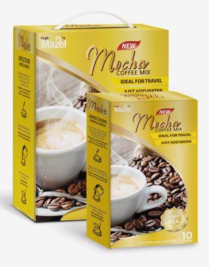 마젤 커피믹스 모카 (Mazel Coffee Mix Mocha) 100 Sticks 배송비 무료