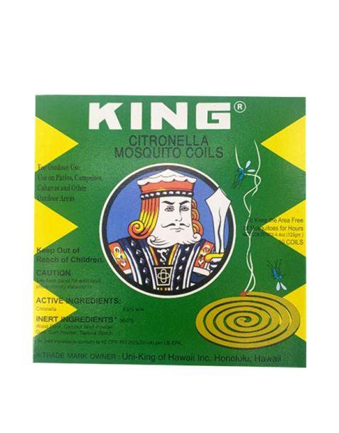 KING 모기향 10ea Citronella Mosquito Coils