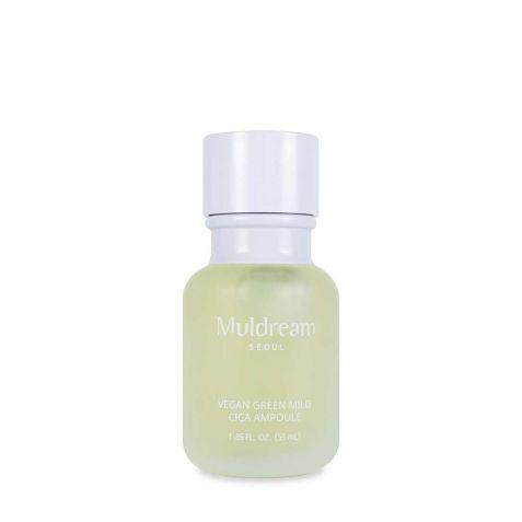 물들임 비건 그린 마일드 시카 진정앰플 Muldream Vegan Green Mild Cica Ampoule 60ml