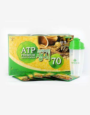 프리미엄 생식 70 ATP Premium Grain Powder 발효 효소가 더해져 더욱 건강해진 생식 최강조합 70가지 30pk
