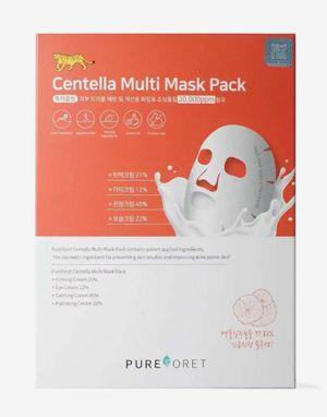 퓨어포레 센텔라 멀티 마스크 10팩 Pureforet Centella Multi Mask 10 Pack (20% 할인)