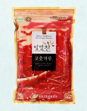 (2020년 햇고춧가루) 빛깔찬 프리미엄 고춧가루 (양념용·보통맛) 1kg
