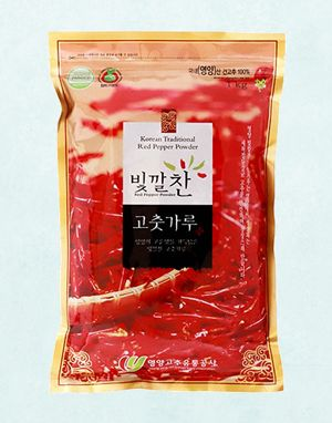 (2020년 햇고춧가루) 빛깔찬 프리미엄 고춧가루 (김치용·매운맛) 1kg