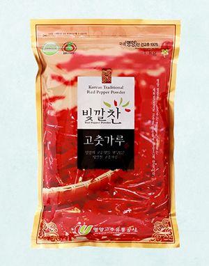 (2020년 햇고춧가루) 빛깔찬 프리미엄 고춧가루 (김치용·보통맛) 1kg