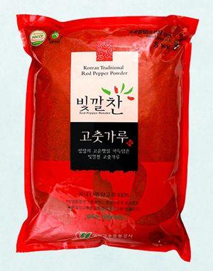 (2020년 햇고춧가루) 빛깔찬 프리미엄 고춧가루 (김치용·보통맛) 5kg