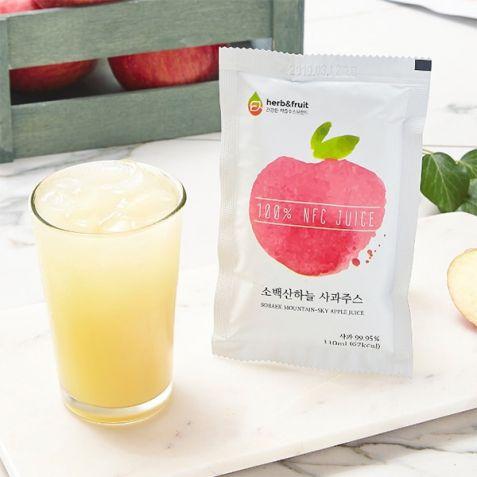 [소백산하늘] 영주 사과주스 대용량 5L