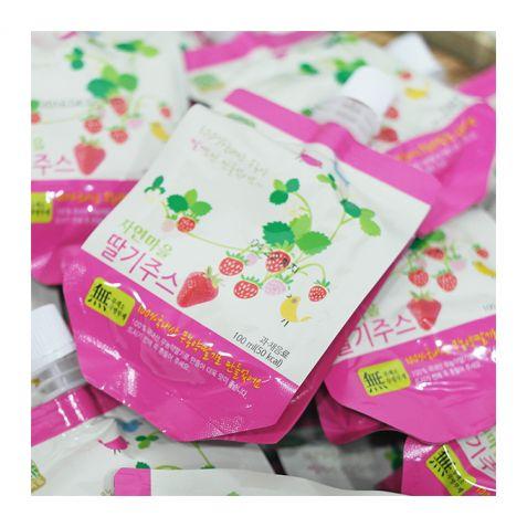 [자연마을] 100% 국내산 딸기주스 100ml x 20팩