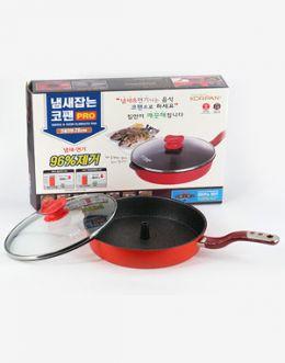 주방의 기적! 냄새잡는 코팬(KOR PAN) 전골용 원형 28cm
