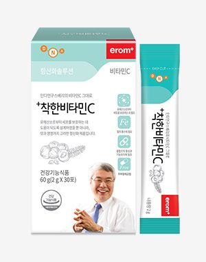 이롬 +착한비타민C (Erom Wholefood Vitamin C) 30 stick packs