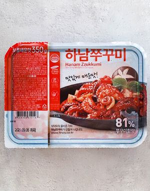 [단일배송] 하남핫쭈꾸미 보통매운맛 350g x 10팩