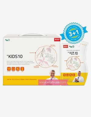 [3+1] 이롬 키즈10 (Erom +Kids 10) 30 pouches