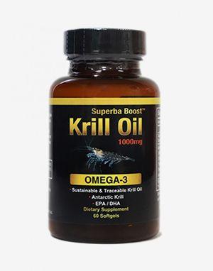크릴 오일 오메가-3 SUPERBA BOOST KRILL OIL 1000mg