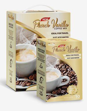 마젤 커피믹스 프렌치 바닐라 (Mazel Coffee Mix French Vanilla) 100 Sticks 배송비 무료