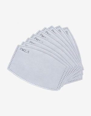 PM 2.5 마스크 필터(filter) 교채형 20장 - 5겹 활성탄소 필터 개별포장