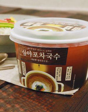 튀기지않은 즉석 건면 심야포차국수 1박스 (12개) – 개운한맛