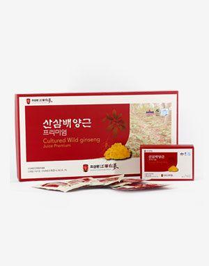 [$39.00 -> $35.00] 조삼원 산삼배양근 프리미엄 30p Cultured Wild ginseng Juice Premium