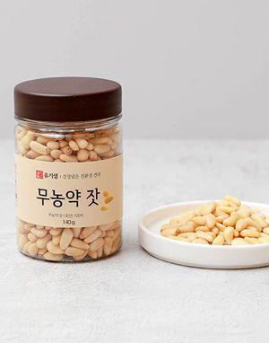 유기샘 무농약 가평잣 140g