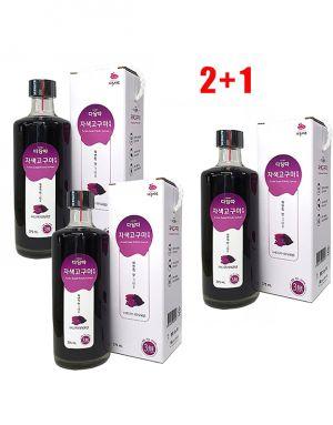 [2+1] 3 박스 간 질환 및 통풍 예방 효과가 입증된 자색 고구마 청(진액) - 375ml